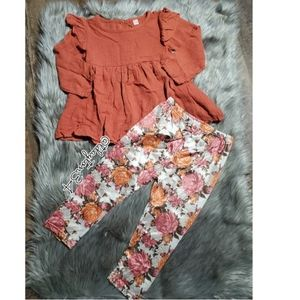 Other - New toddler girl CUTE fall outfit or everyday wear